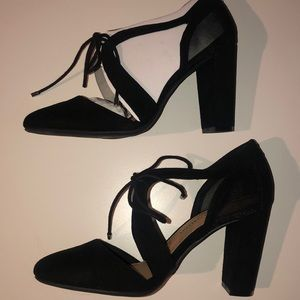 Christian Soriano Black Block Heels